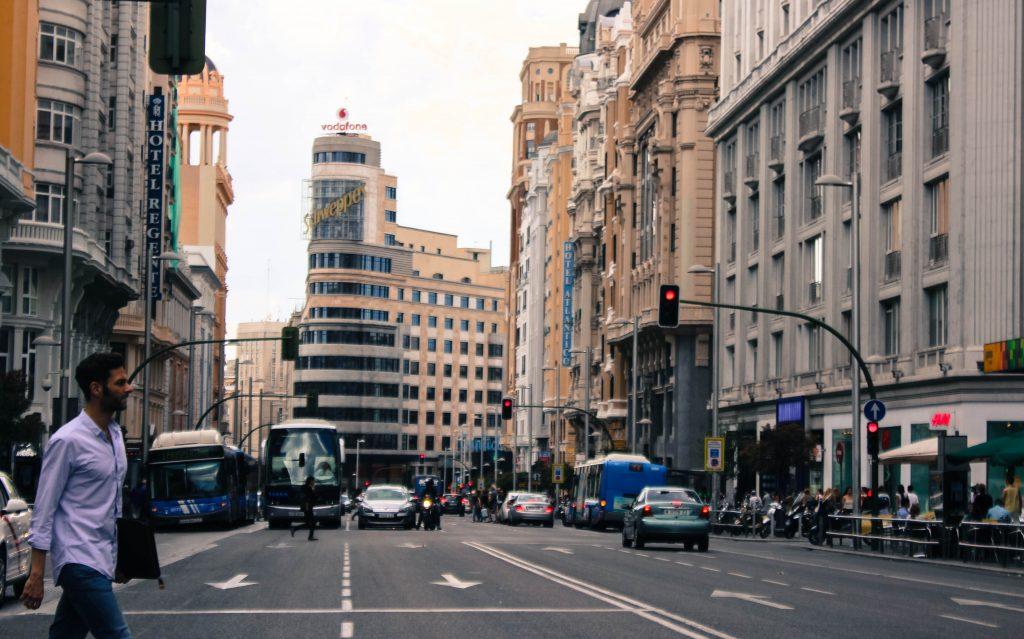 مرکز شهر مادرید - اسپانیا