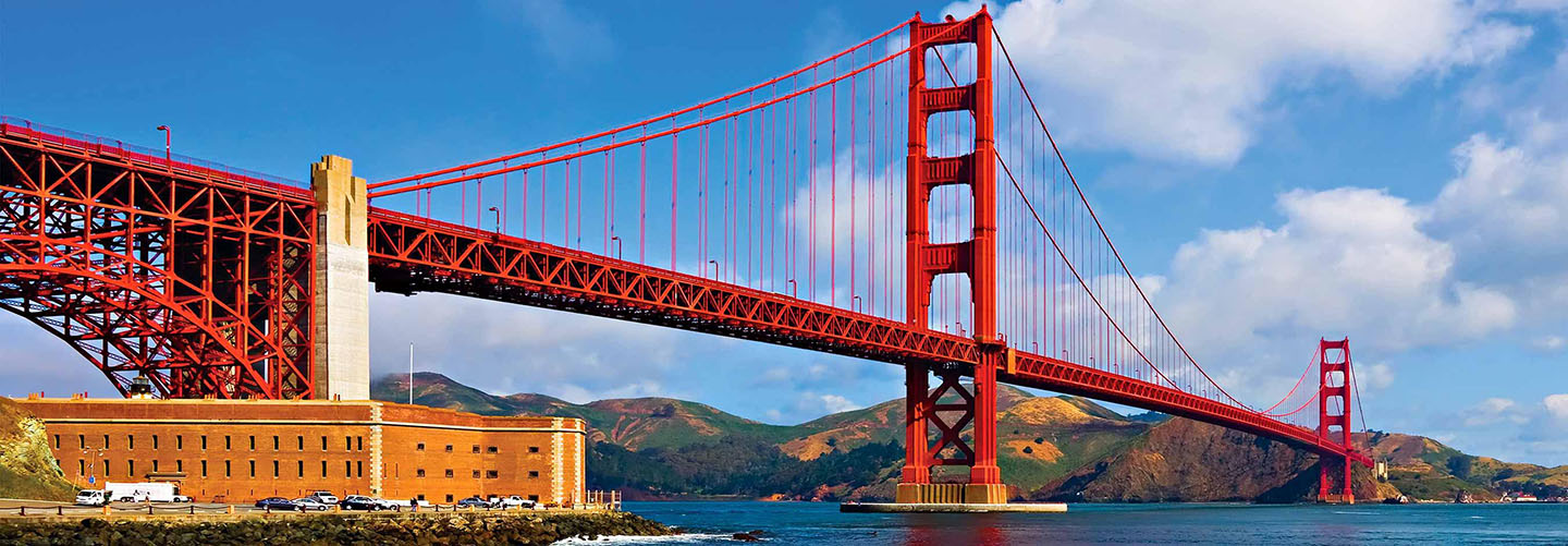 Golden Gate Bridge - San Francisco