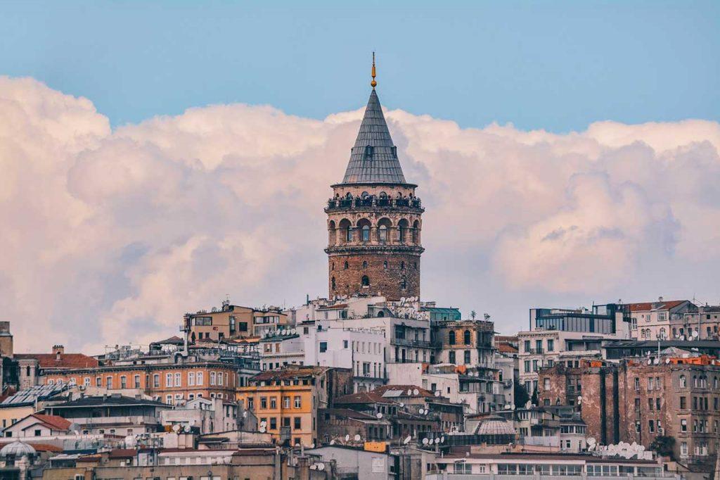 Bereketzade,-Galata-Kulesi,-Beyoğluİstanbul,-Turkey