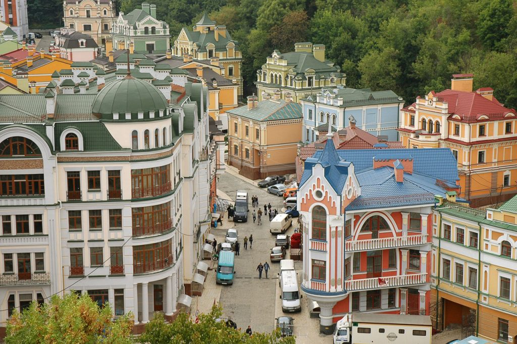 the-picturesque-street-and-city-view-in-kiev-ukraine