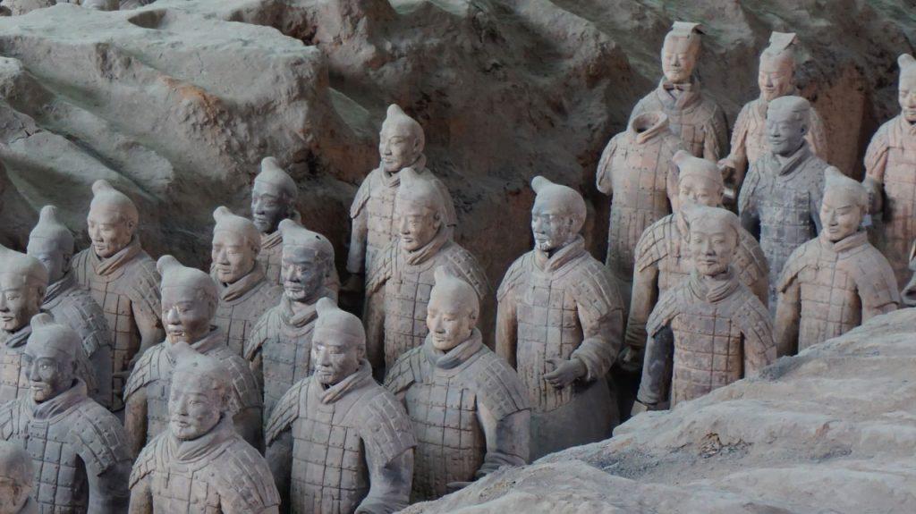 Emperor-Qinshihuang's-Mausoleum-Site-Museum,-Xi'an,-China