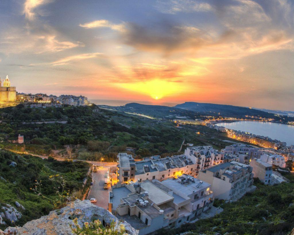 Beautiful-Island-of-Malta-at-sunset