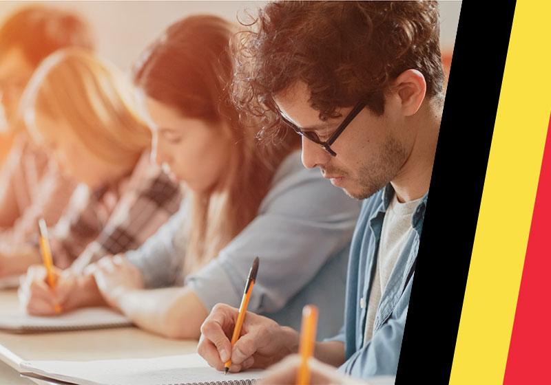 تحصیل در بلژیک به زبان انگلیسی یا آلمانی یا فرانسوی